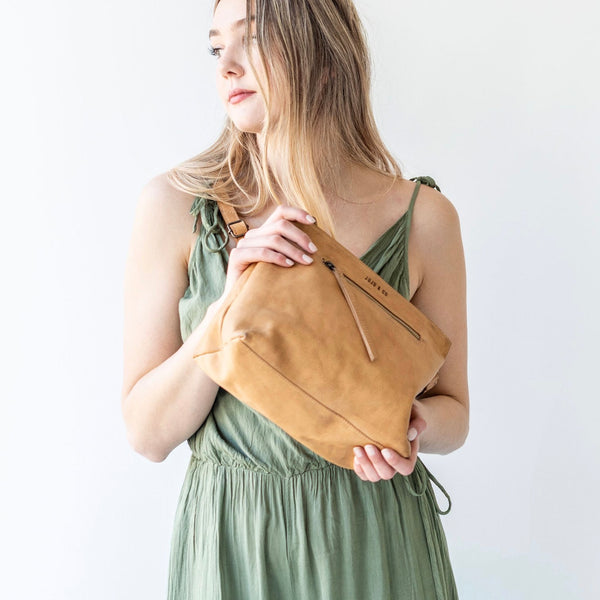 Essential Pouch Bag- Natural