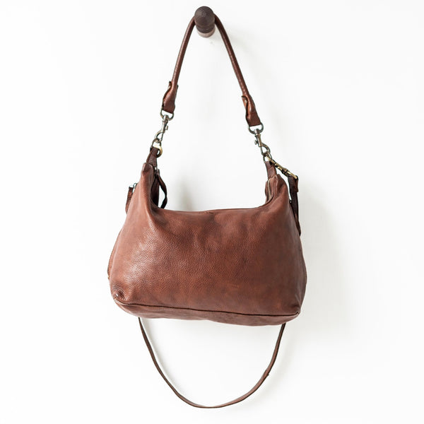 Small Slouchy Bag - Cognac