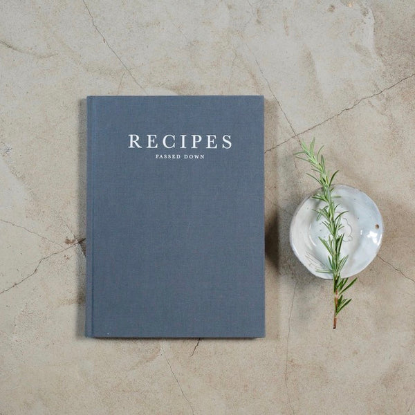 Recipes Passed Down Journal