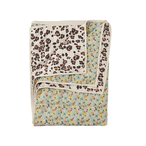 Marcie/Leopard Standard Double Sided Quilt