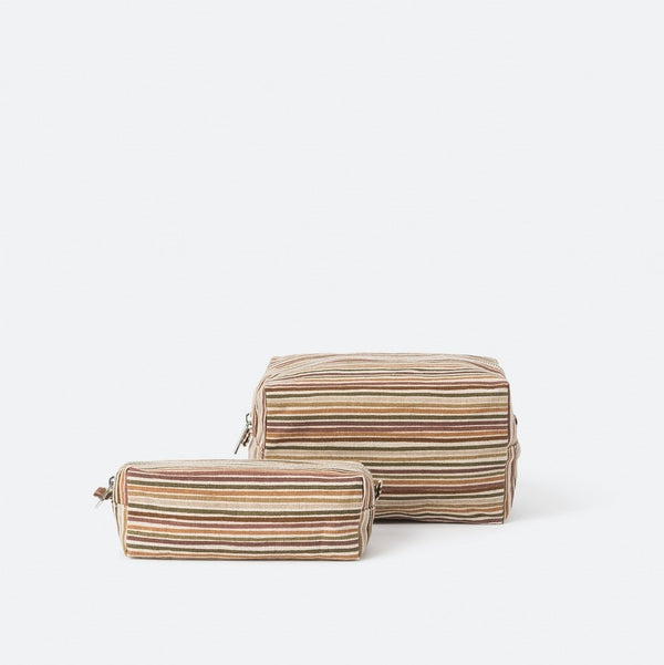 Hara Wash Bag - Brick Multi