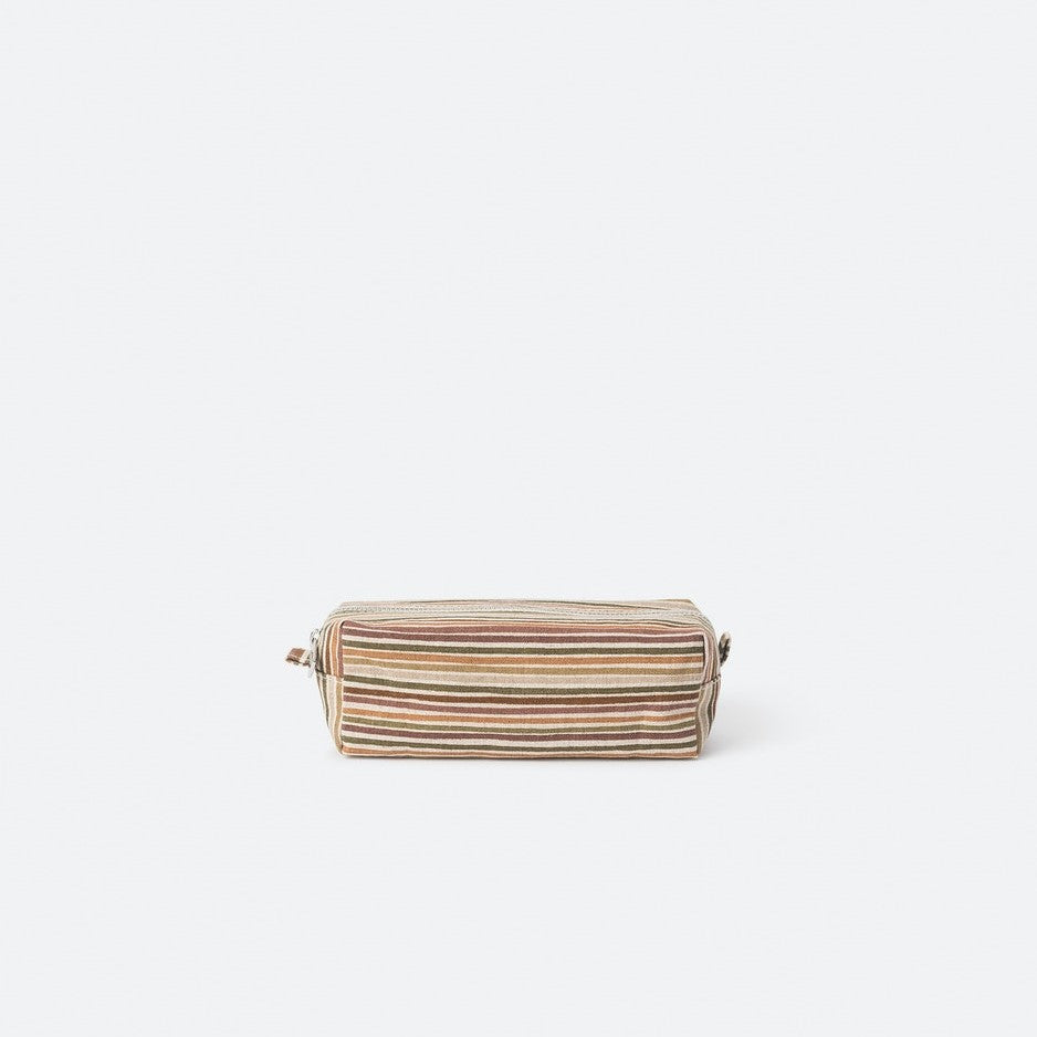 Hara Wash Bag - Brick/Multi Small