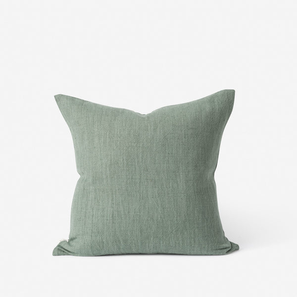 Linen Cotton Cushion - Heron
