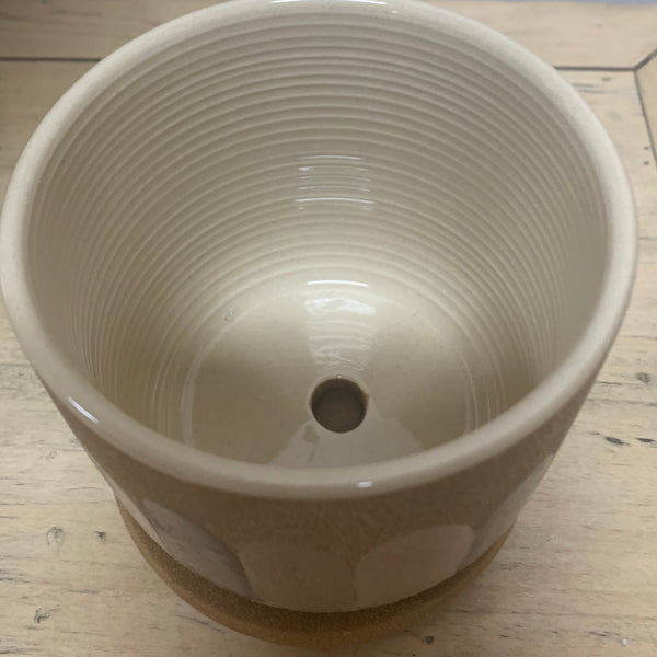 Frankie Planter Pot with Saucer - Small