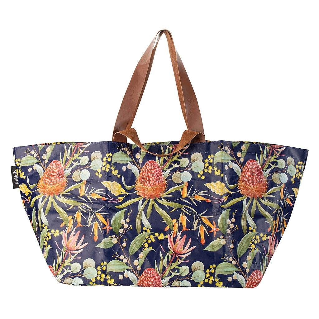 Beach Bag - Native Floral