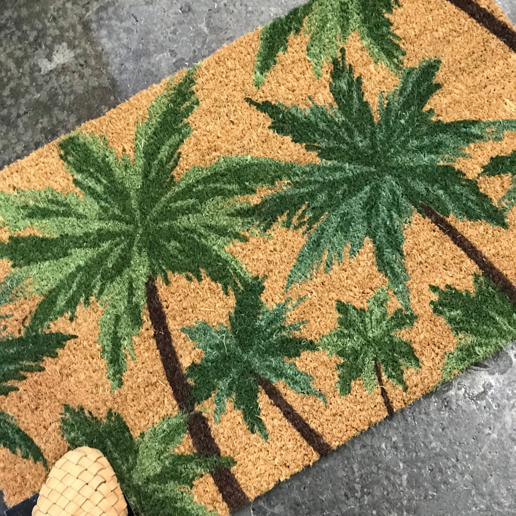 Palm Door Mat