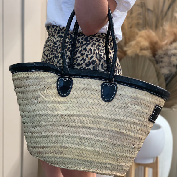Ava Basket - Black