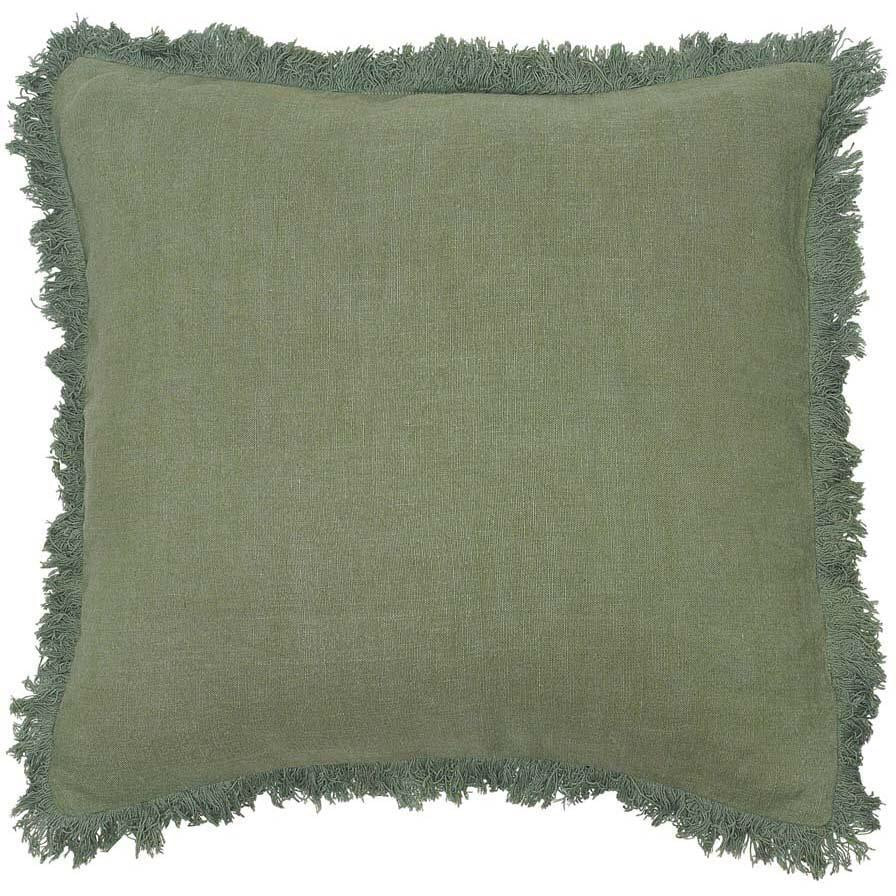 Luca Boho Cushion Sage