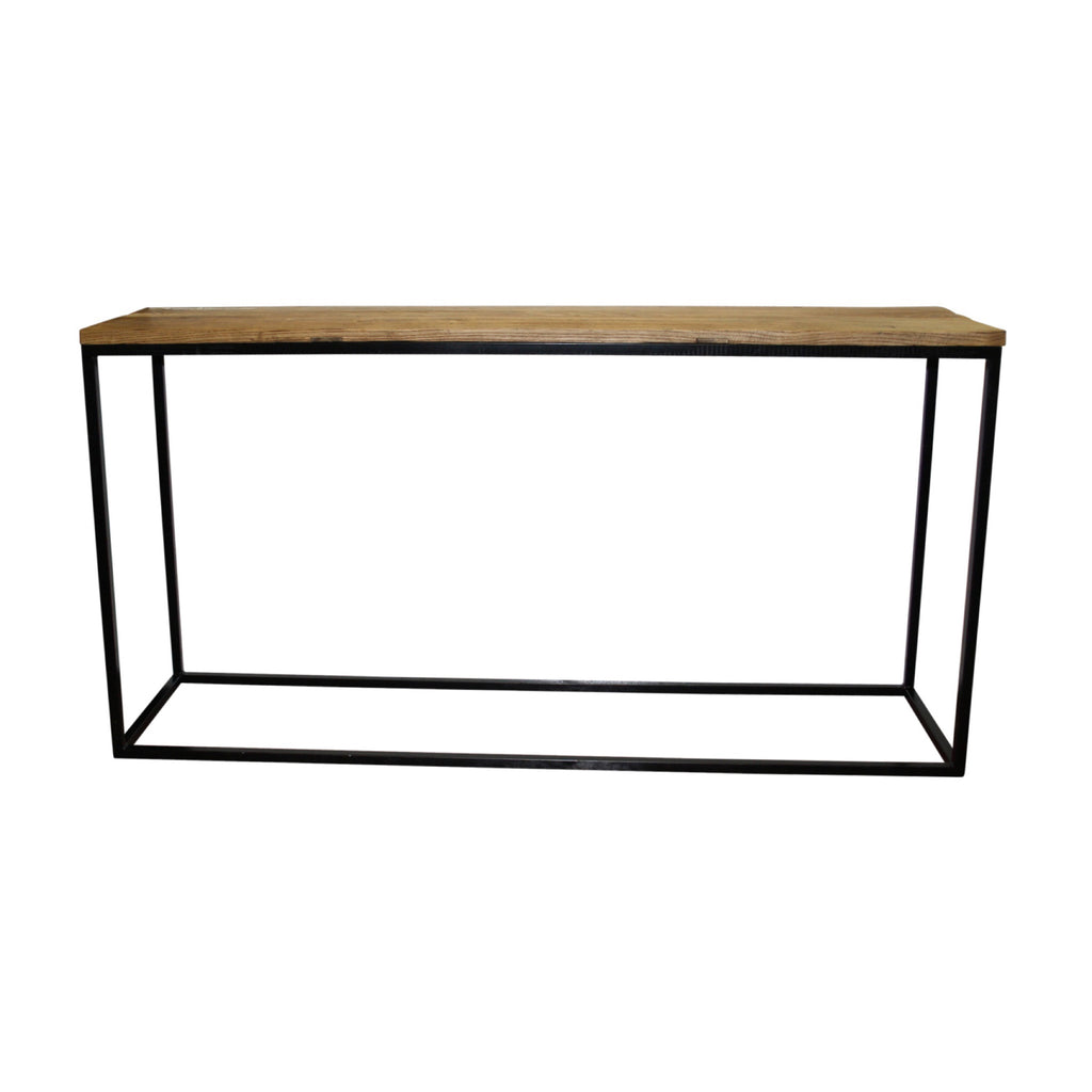 Elm Industrial Console Table