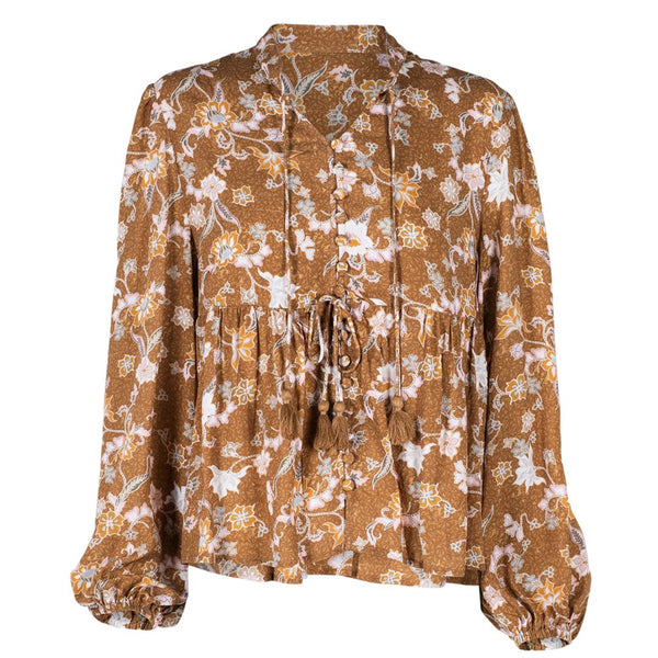 Sunset Blouse - Bronze