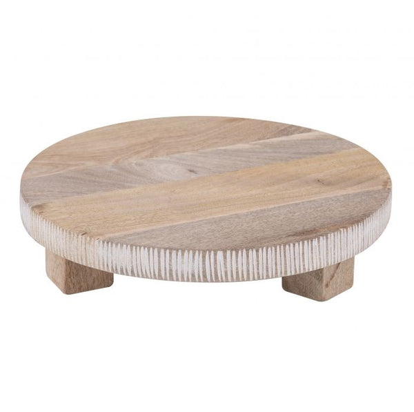 Footed Serving Board Small