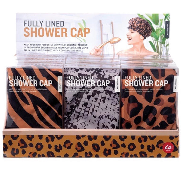 Shower Cap - Animal Print