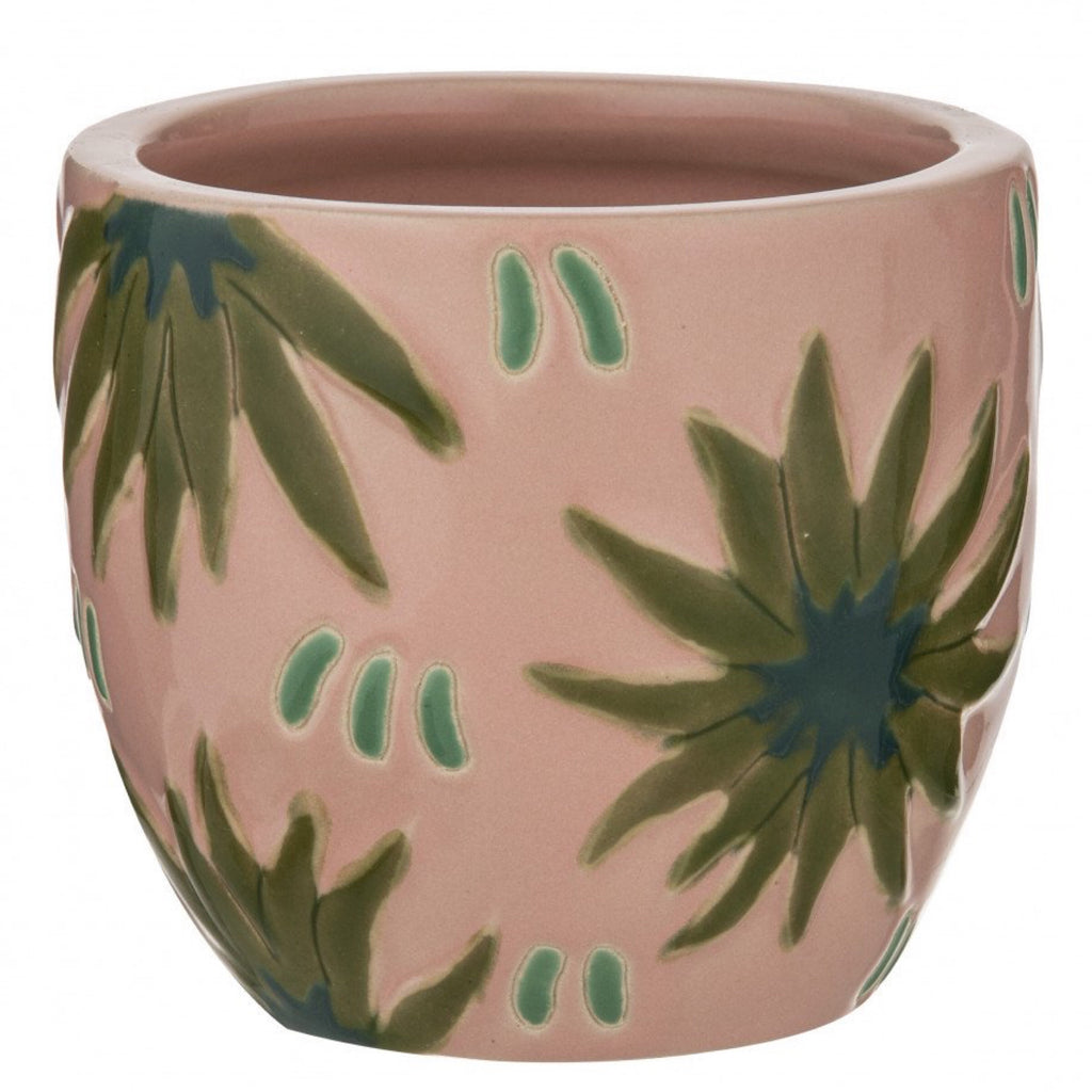 Tropical Envy Planter Pot