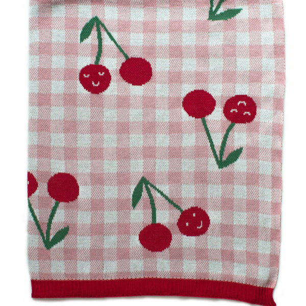 Cheeky Cherries Blanket