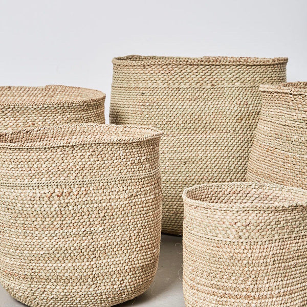 Sondu Iringa Natural Baskets 5 Sizes