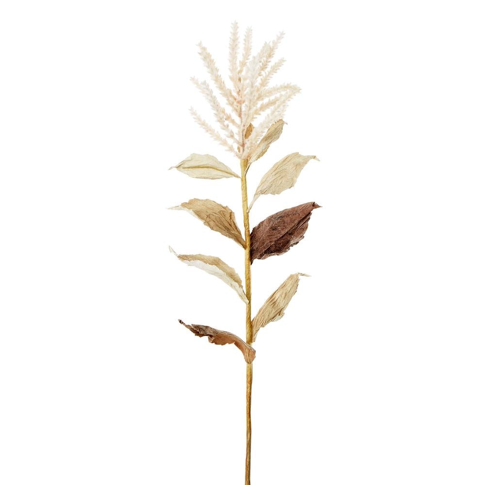 Wheat with Cream Leaves