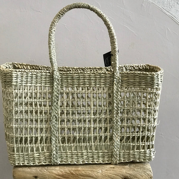 Sea Grass Rectangle Basket 3 Sizes