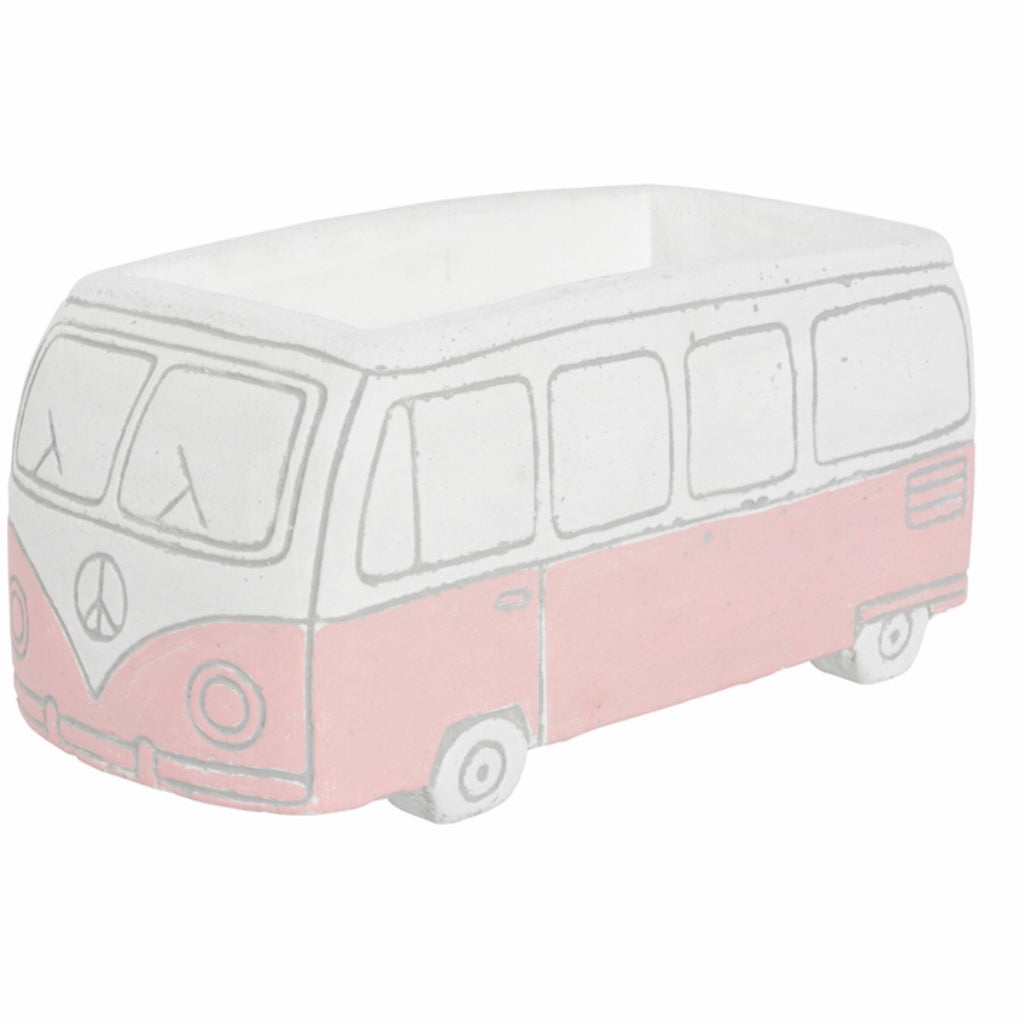 Combie Van Planter Small Pink
