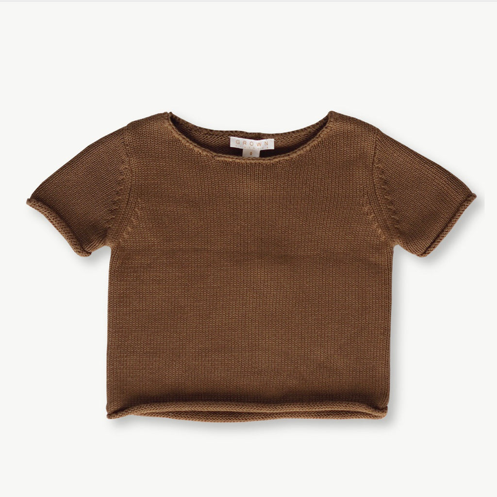 Relaxed knitted Tee Earth