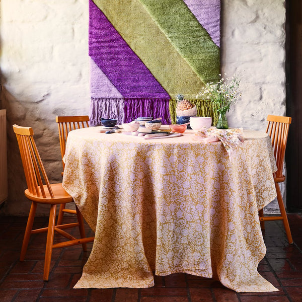 Jeanna Linen Table Cloth