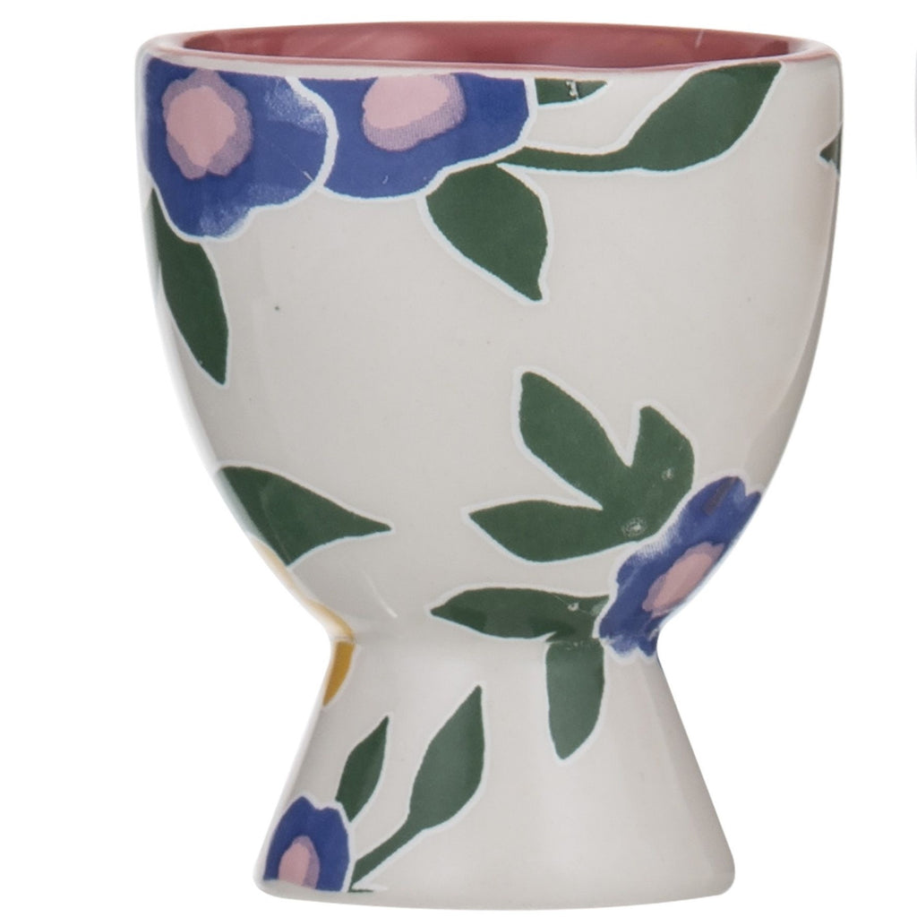 Pattern Clash  Egg Cup - Pink