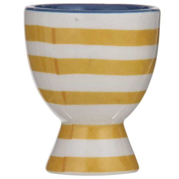 Pattern Clash  Egg Cup - Blue