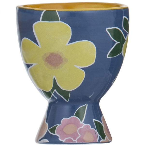 Pattern Clash Egg Cup - Yellow