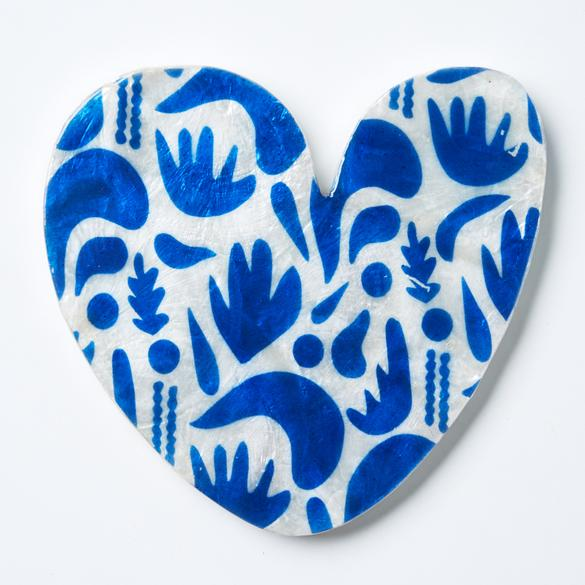 Matisse Heart - Blue