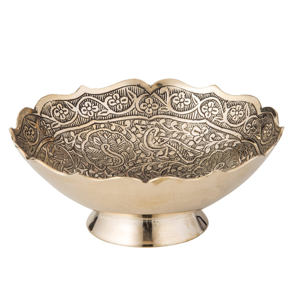 Morani Trinket Bowl - Small Brass
