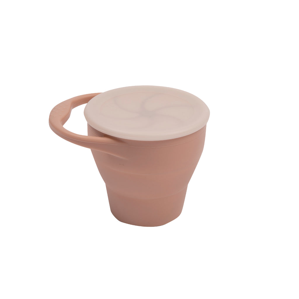 Silicone Expandable Snack Cups - Muted
