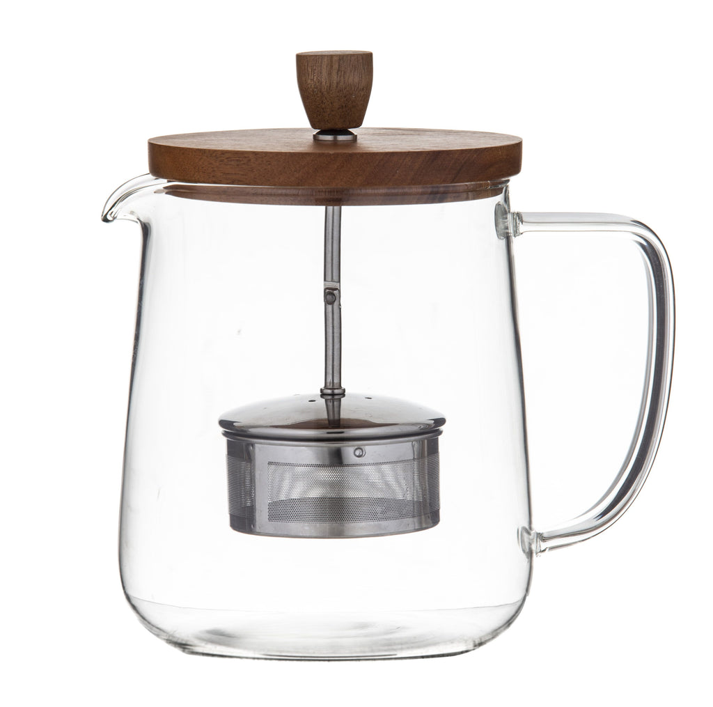 Naples Tea pot Acacia & Infuser - 1L