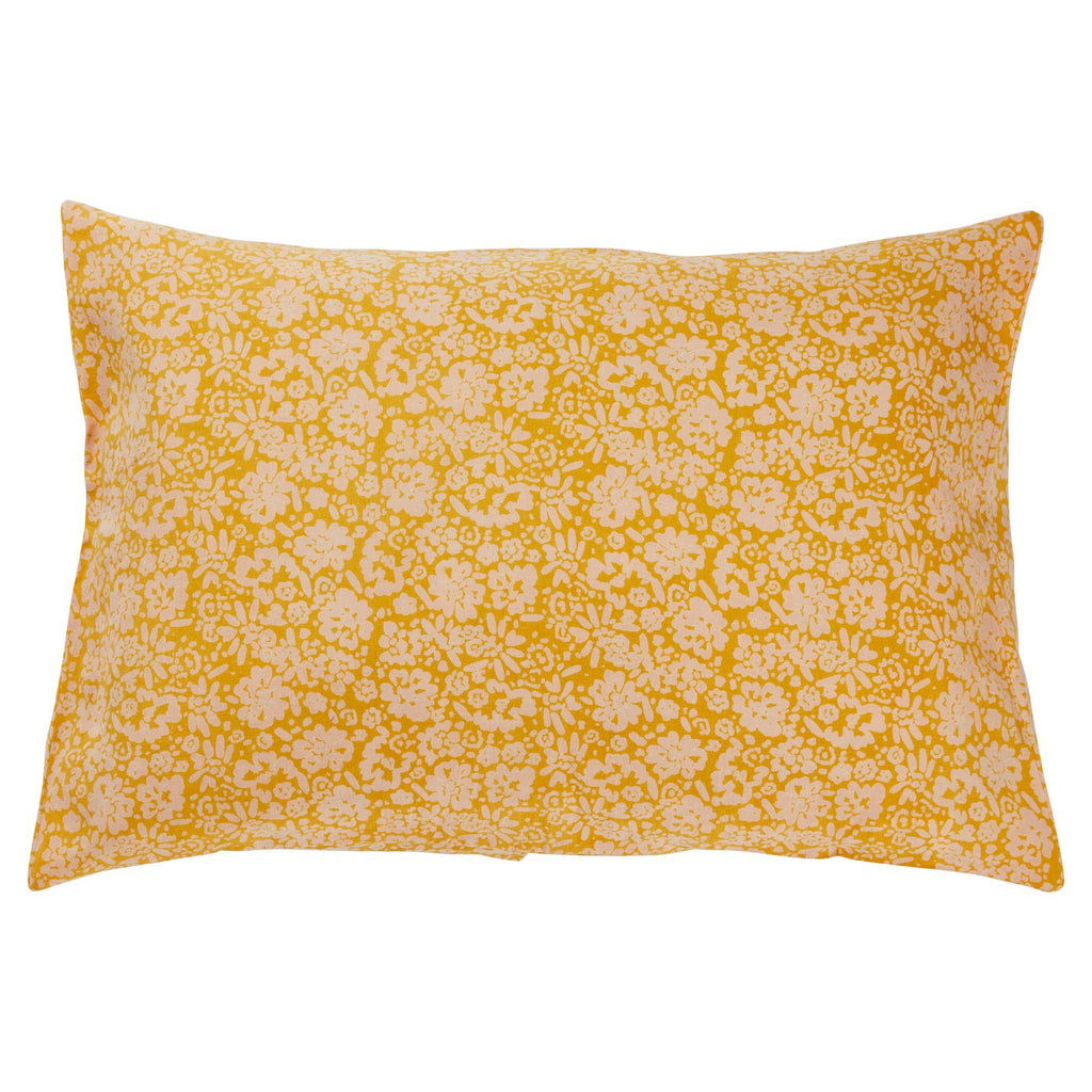 Ohana Linen Pillowcase Set - Sunflower