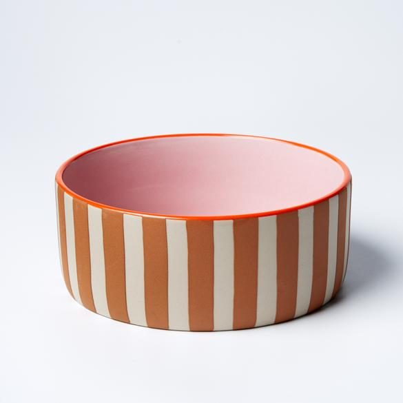 Big Woof Bowl - Stripe