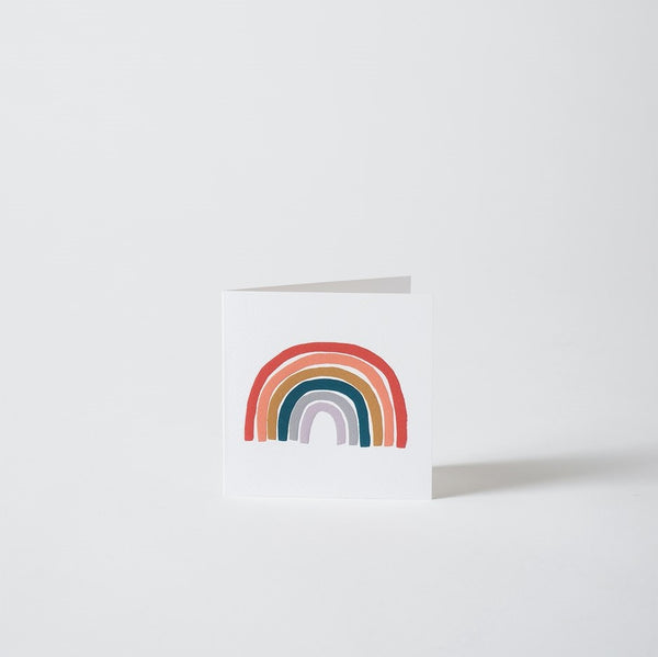 Rainbow - Greeting Card