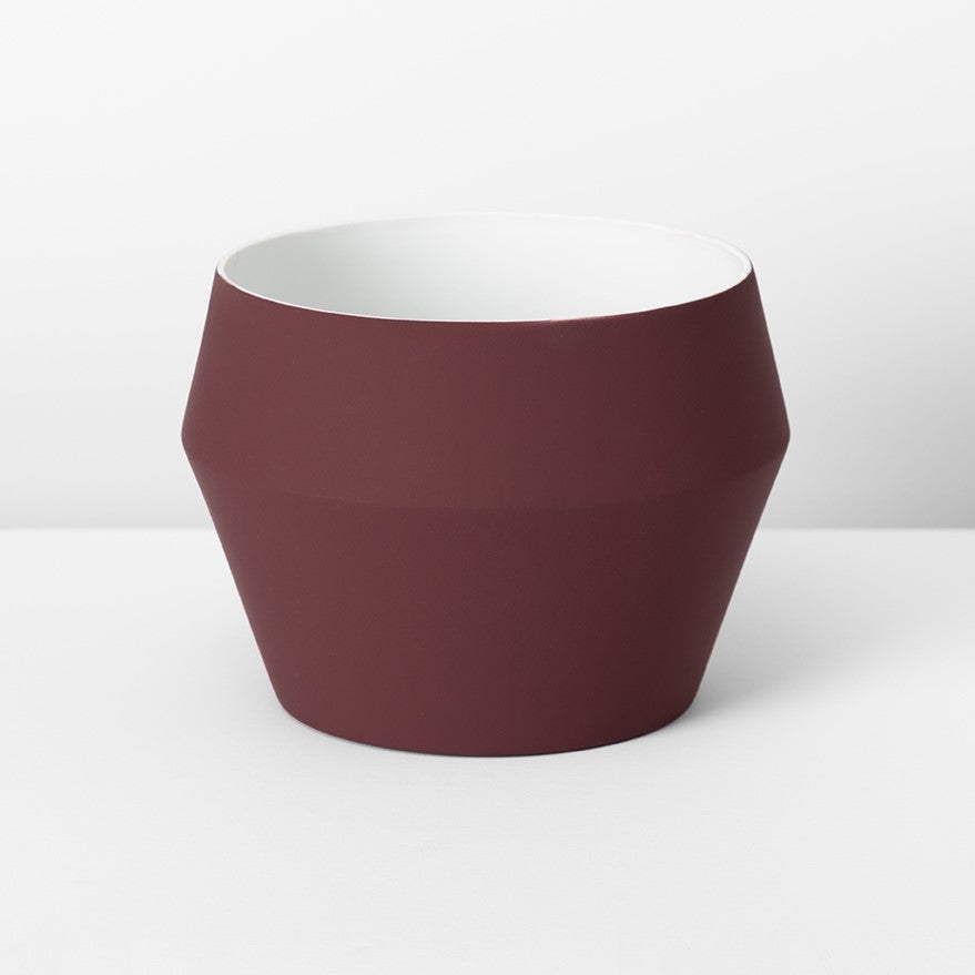 Romo Planter - Medium Wine