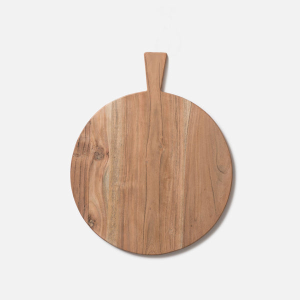 Acacia Round Chopping Board - Natural Large