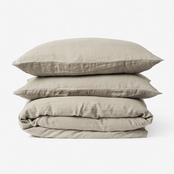Sove Linen Duvet Cover - Puddle