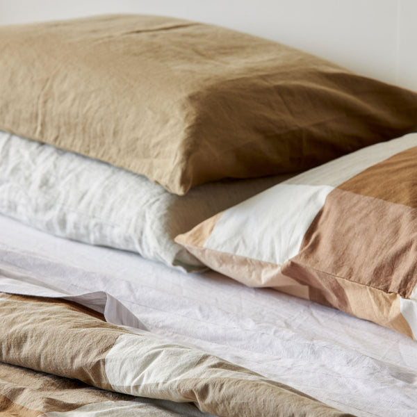 Sove Linen Pillowcase Pair - Pickle