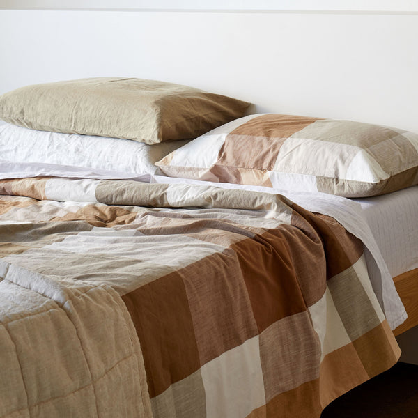 Frankie Organic Cotton Duvet Cover - King Single/Double