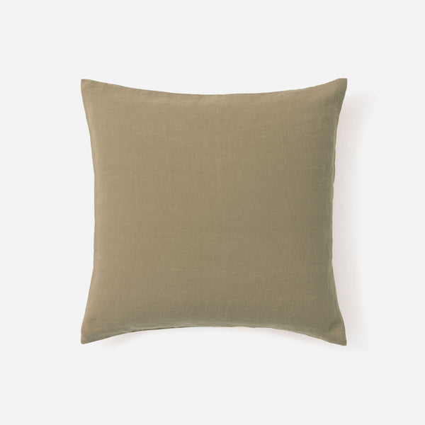 Sove Linen Euro Pillowcase - Pickle
