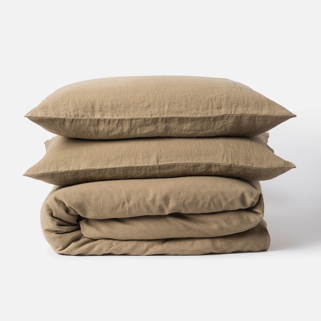 Sove Linen Duvet Cover - Pickle Queen