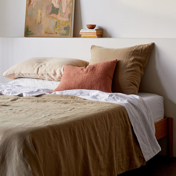 Sove Linen Duvet Cover - Pickle King