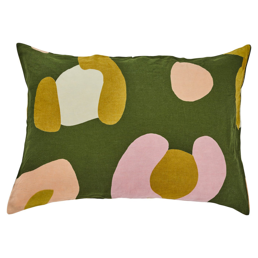 Solange Linen Pillowcase Set