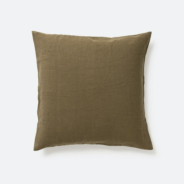 Sove Linen Euro Pillowcase - Ivy