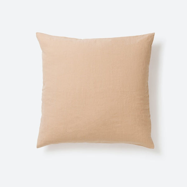Sove Linen Euro Pillowcase - Latte