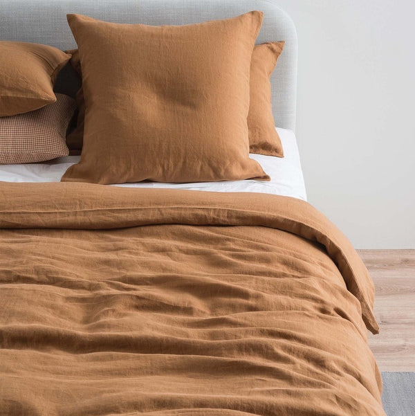 Sove Linen Euro Pillowcase - Toast