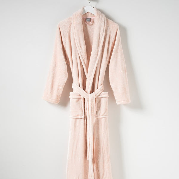 Spot Womens Velour Dressing Gown
