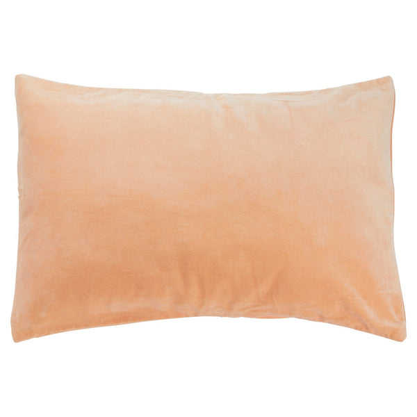 Tanis Velvet Pillowcase - Peach