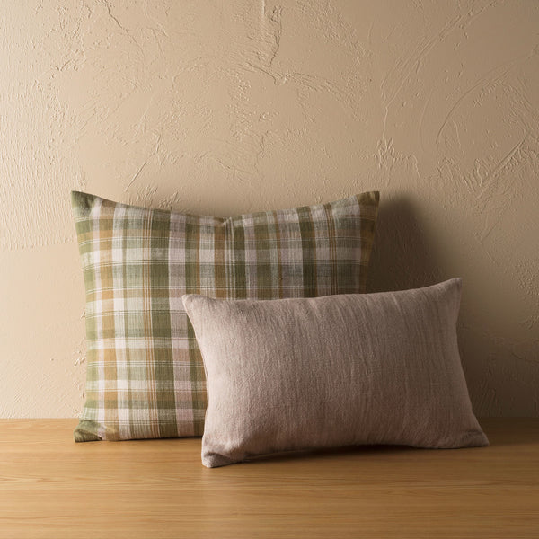 Tasman Woven Cushion - Caper/Multi