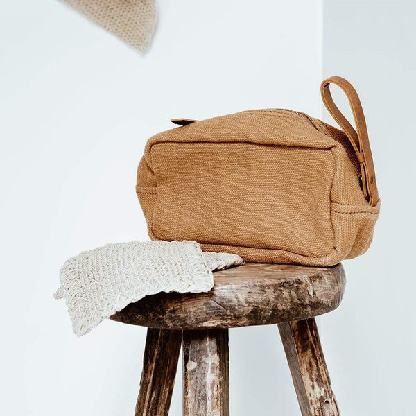 Toiletry Bag - Camel